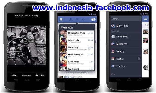 Online Facebook Dengan Mudah dan Cepat Lewat Aplikasi Android