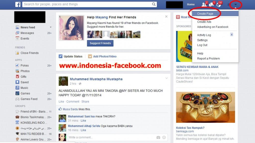 Cara Buat Fanspage Facebook Dengan Cepat dan Mudah