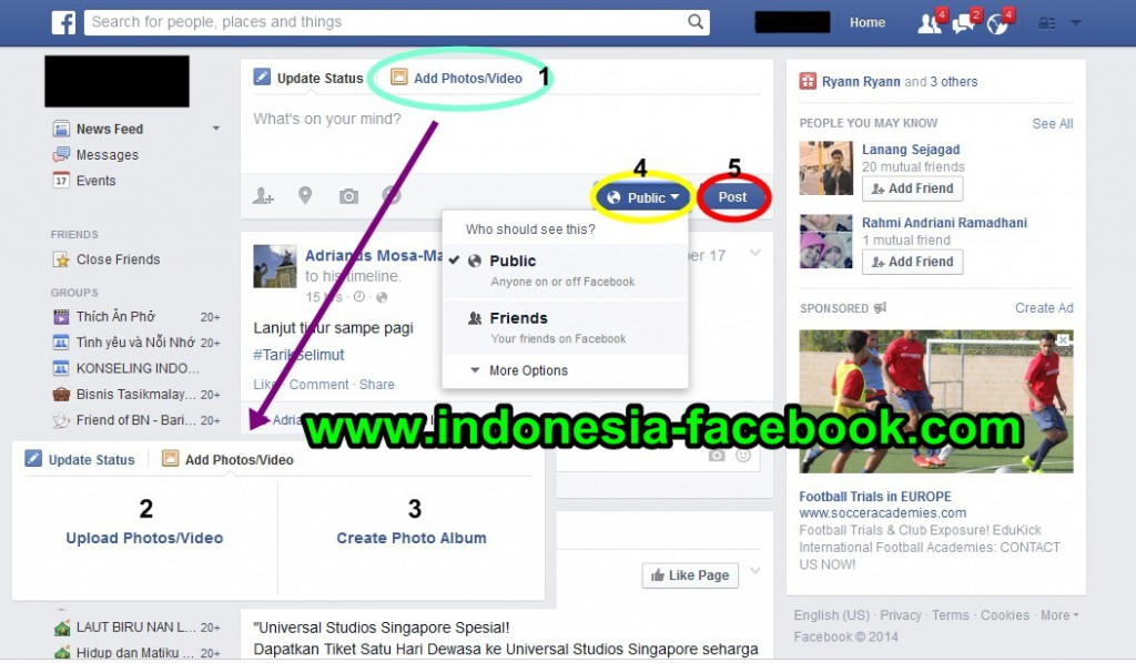 Cara Jitu Upload Foto ke Facebook
