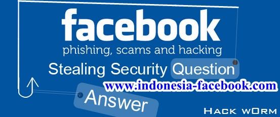 Cara Mengubah Security Question Facebook Dengan Cepat