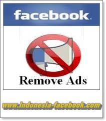 Menghilangkan iklan di facebook