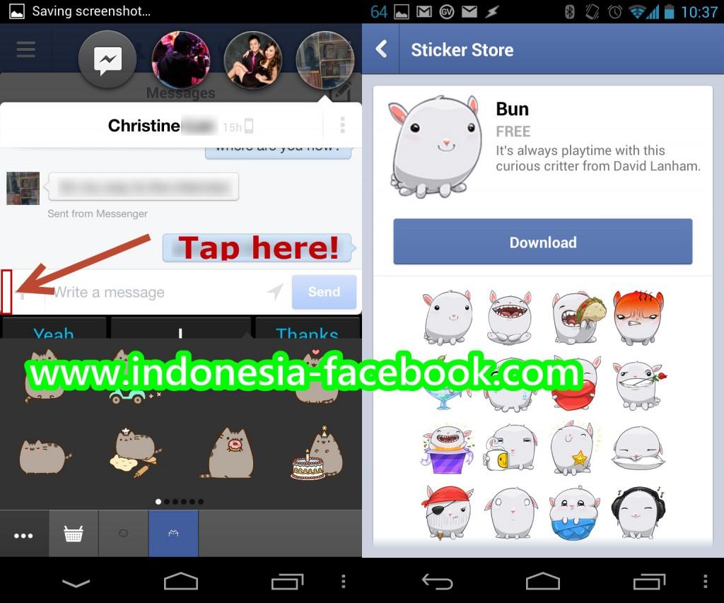 HOT NEWS!!! Aplikasi Baru Facebook Dengan Stiker Baru