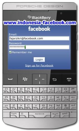 Cara Masuk Facebook Cepat Lewat Blackberry