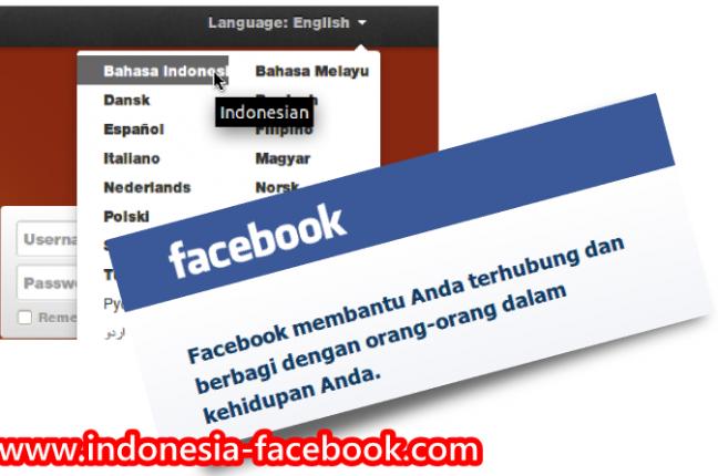 Cara Mengubah Facebook Bahasa Indonesia Dengan Cepat & Mudah