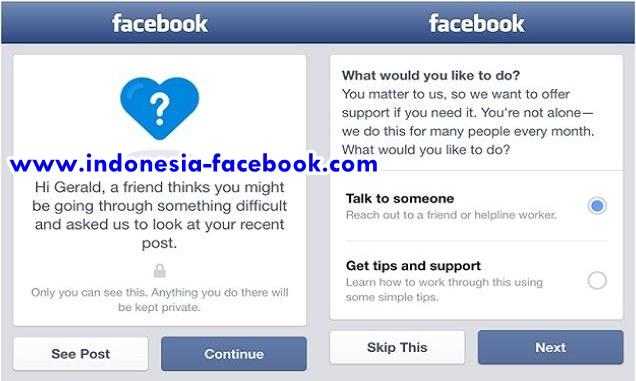 Facebook Rilis Fitur Untuk Mencegah Bunuh Diri
