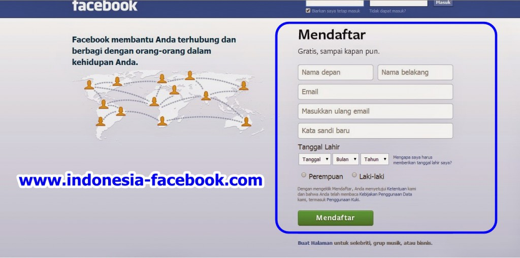 Panduan Lengkap Facebook Sign Up Bahasa Indonesia