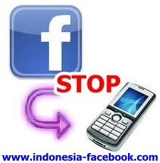 Cara Menonaktifkan Pemberitahuan SMS Dari Facebook