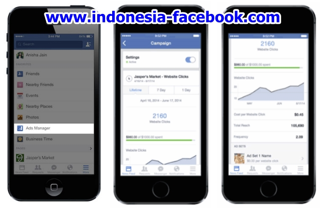 Facebook Rilis Aplikasi Facebook Ads Manager untuk iOS