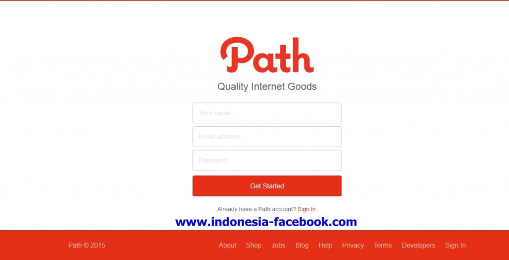 Cara Mudah Mendaftar dan Membuat Akun Path