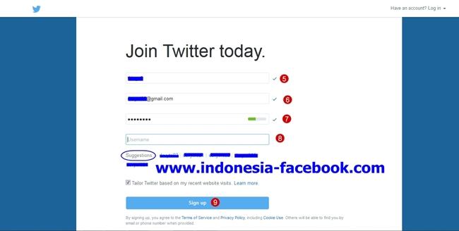 Cara Membuat Akun Twitter