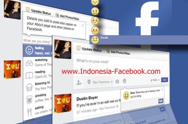 Cara Membuat Status Kosong Pada Facebook