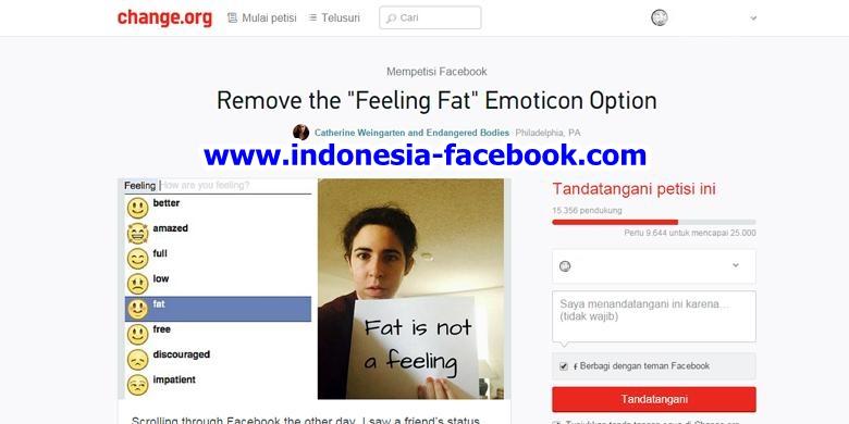 "HOT NEWS!!! Facebook Dituntut Hapus Emoji ""Gemuk"""