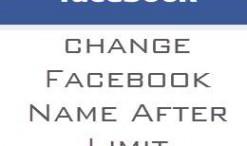 Cara Mengubah Nama Di Facebook Sesudah Melebihi Batas