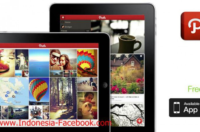 Melihat Sekilas Tampilan Aplikasi Path for iPad