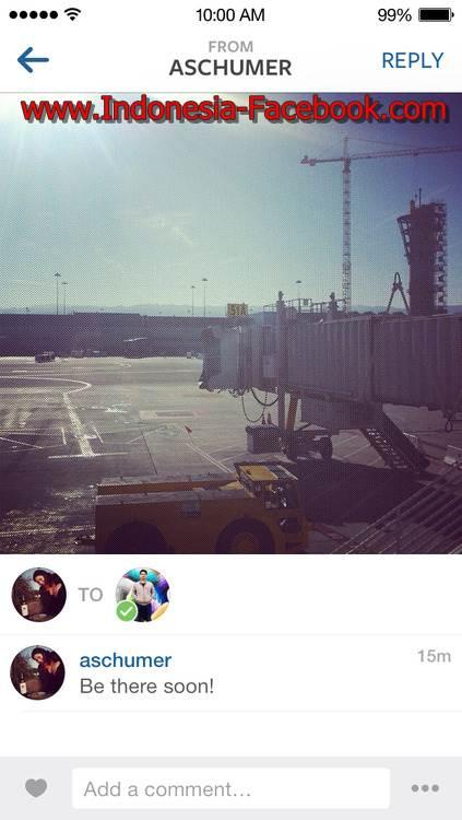 Cara Sharing Foto Ke Teman - Teman Tertentu Di Instagram