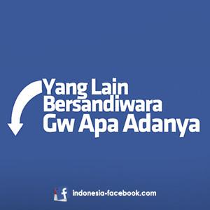 Kata-Kata Lucu Facebook