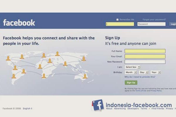 Cara Membuat Facebook Dengan Mudah dan Cepat