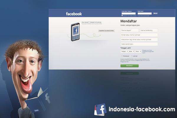 Cara Mudah Daftar Facebook