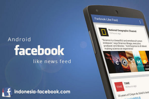 Facebook Android Bahasa Indonesia