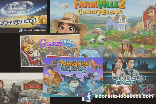 Game Facebook Terbaik Yang Cocok Untuk Facebooker