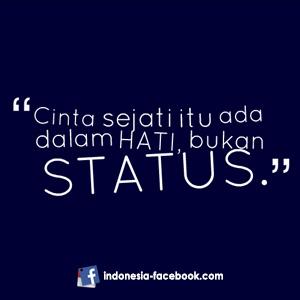 Kata Status Singkat Facebook