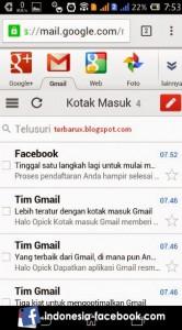 Buka Email Untuk Mengecek Verifikasi