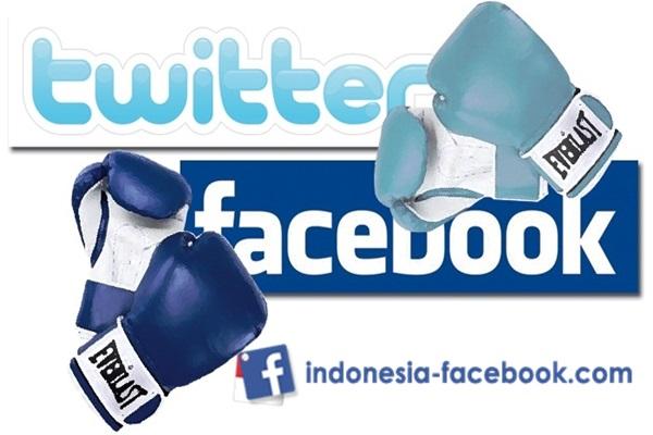 Facebook Atau Twitter Yang Lebih Bagus Untuk Bisnis