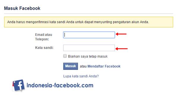 Login Account Facebook