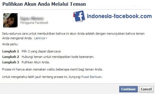 Mengembalikan Akun Facebook Kenak Hack