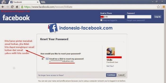 Tips Cara Hack Facebook Tanpa Menggunakan Software3