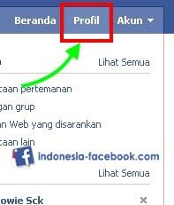 Klik Profil