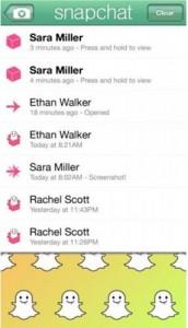 Aplikasi Snapchat