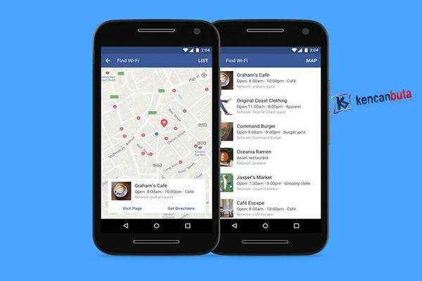 Sekarang Aplikasi facebook bisa cari jaringan wifi terdekat