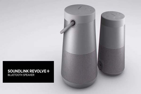 BOSE LUNCURKAN SPEAKER BLUETOOTH DAN SOUNDLINK REVOLVE+