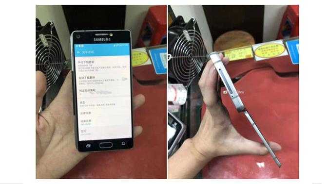Apakah ini Wujud Smartphone Model Lipat Samsung Galaxy X?