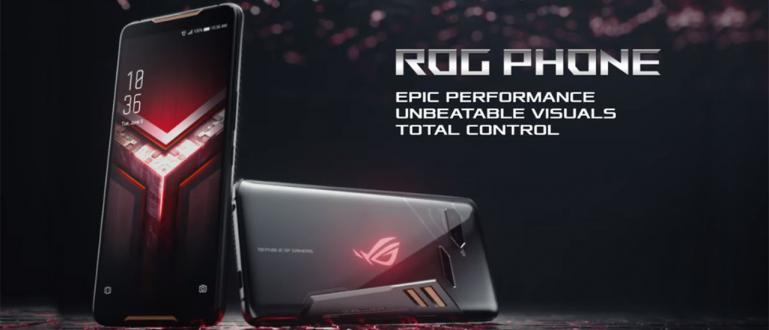 Inilah HP Gaming Sesungguhnya! ASUS Luncurkan ROG Phone