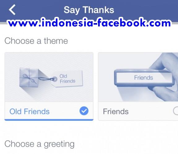 Cara Terima Kasih ke Teman Facebook Lewat Video 'Say Thanks'