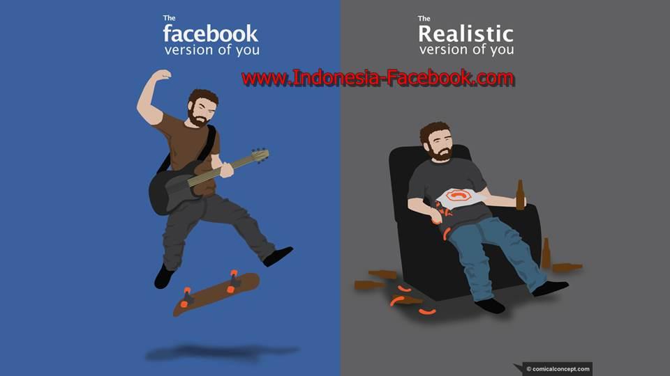 Menggunakan Facebook Sebagai Pencitraan Diri Anda