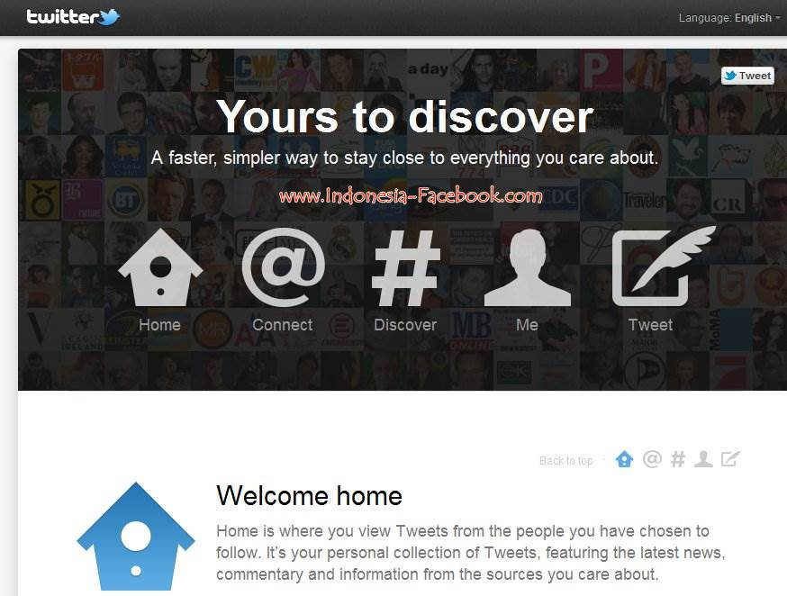Interface Baru Twitter