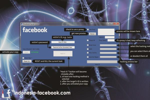 Beragam Cara Menghack Akun Facebook