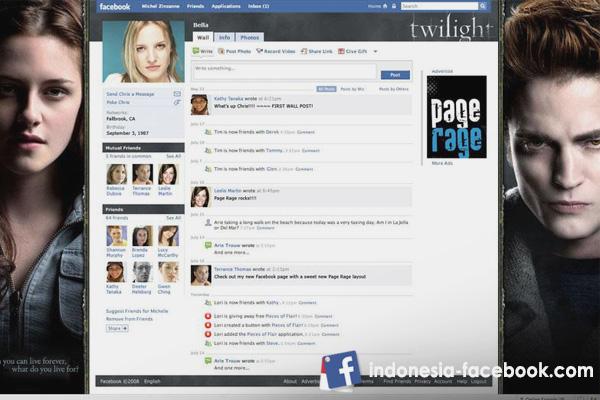 Mengganti Tampilan Facebook Dan Mengembalikannya Kayak Semula