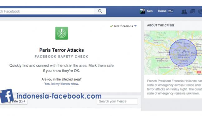 Fitur Facebook Safety Check Yang Di Kritik Netizen