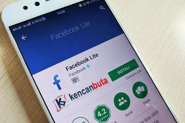 Aplikasi Facebook Lite Palsu yang Mengandung virus Trojan berkeliaran