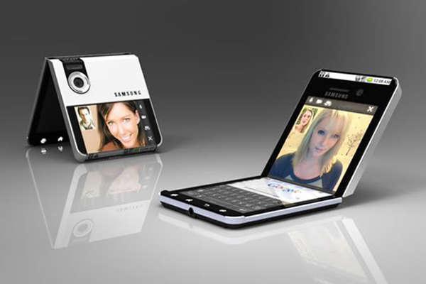 Lebih Cepat, Samsung Akan Umumkan Smartphone Lipat November